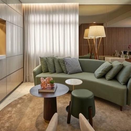 sofá em módulo
